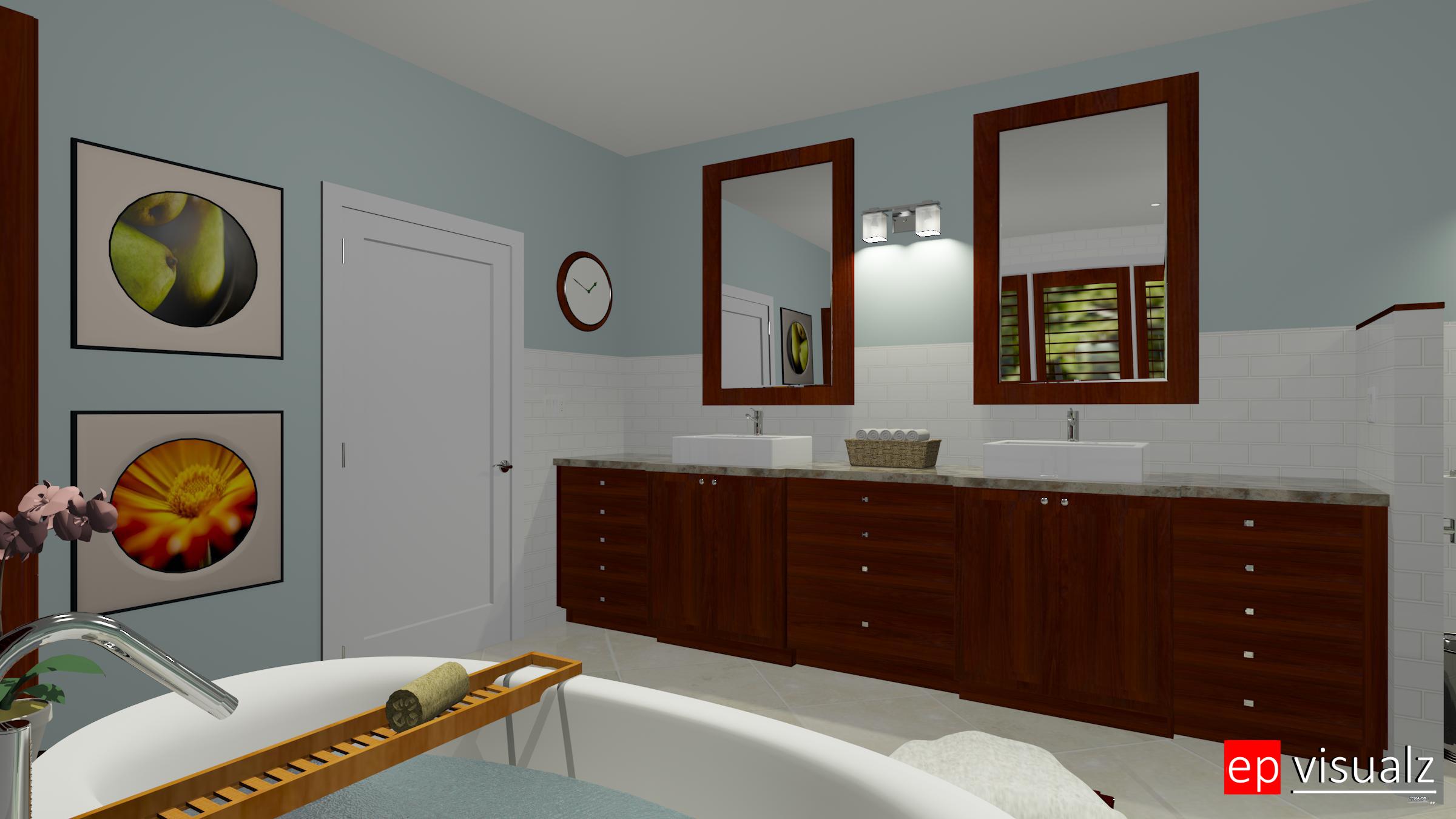 Bath Elegant 1-Sink View