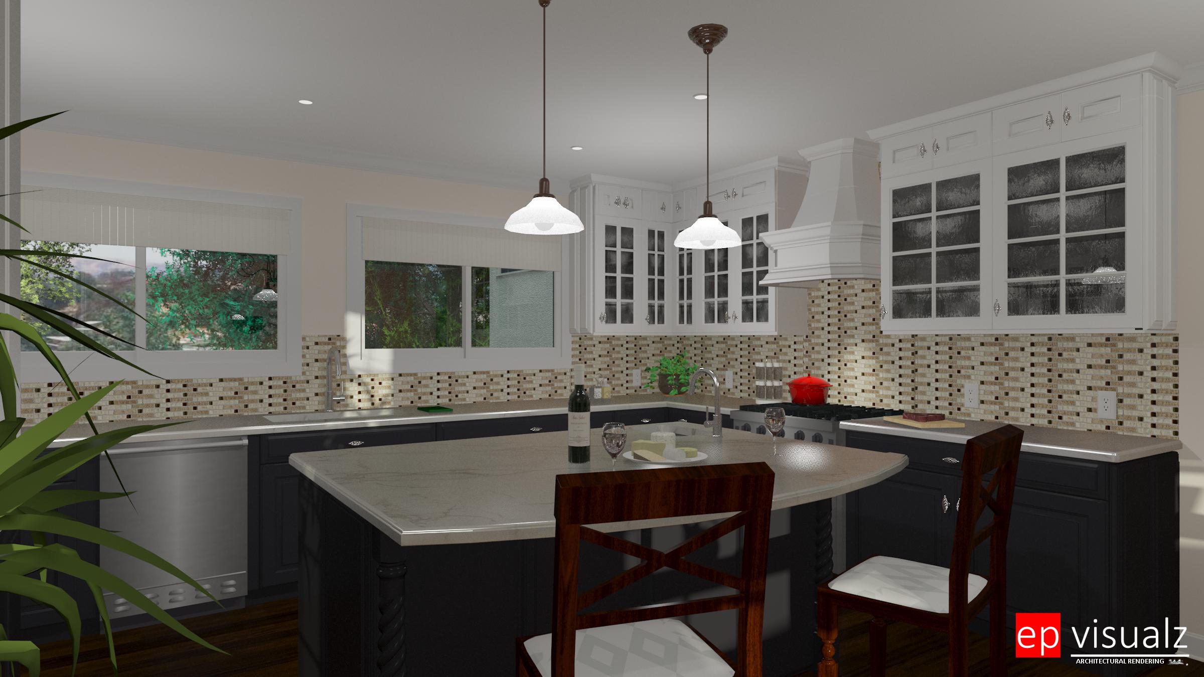 4000 Woking Way-Kitchen