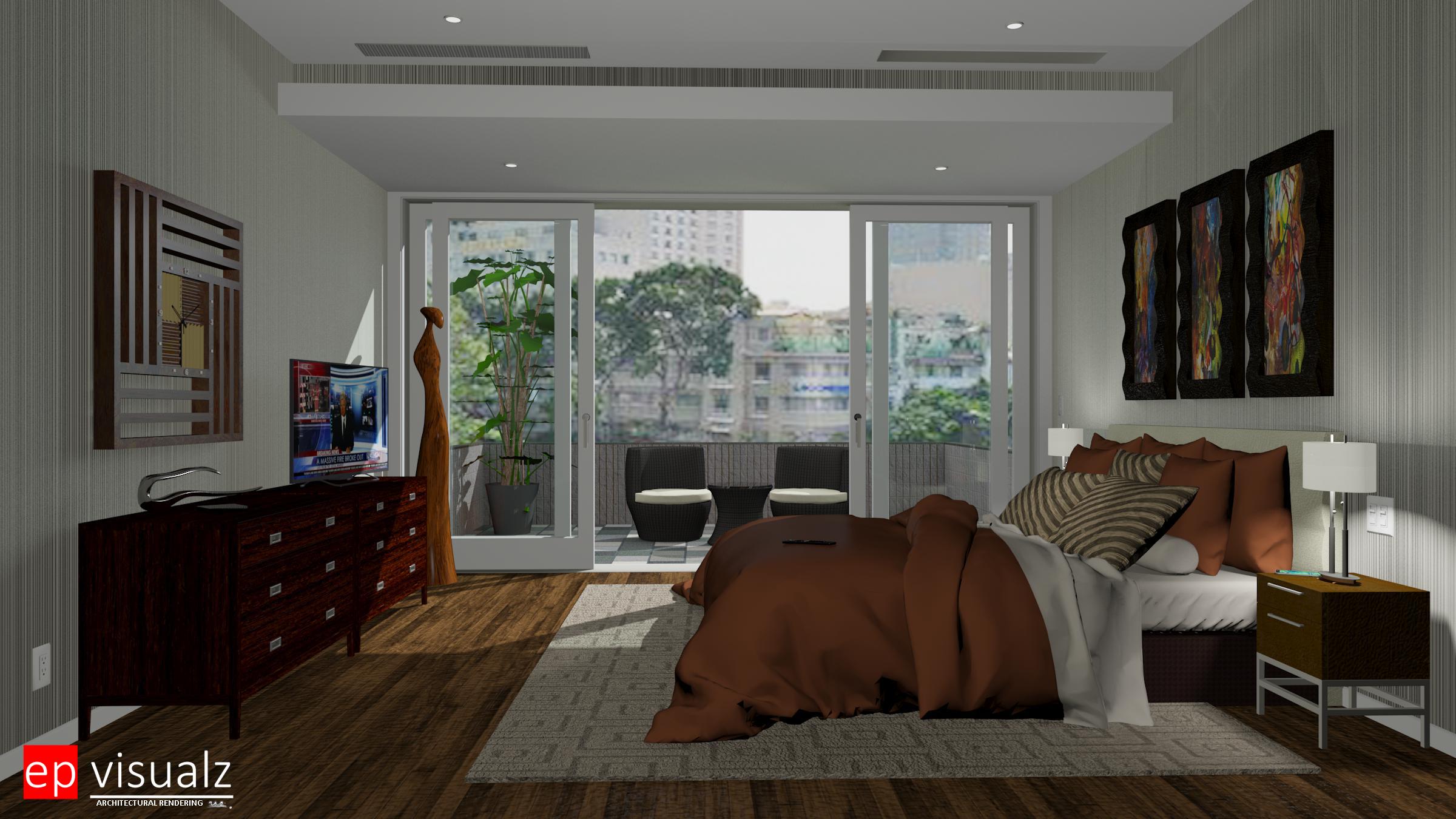 Bedroom-Modern 3 RT