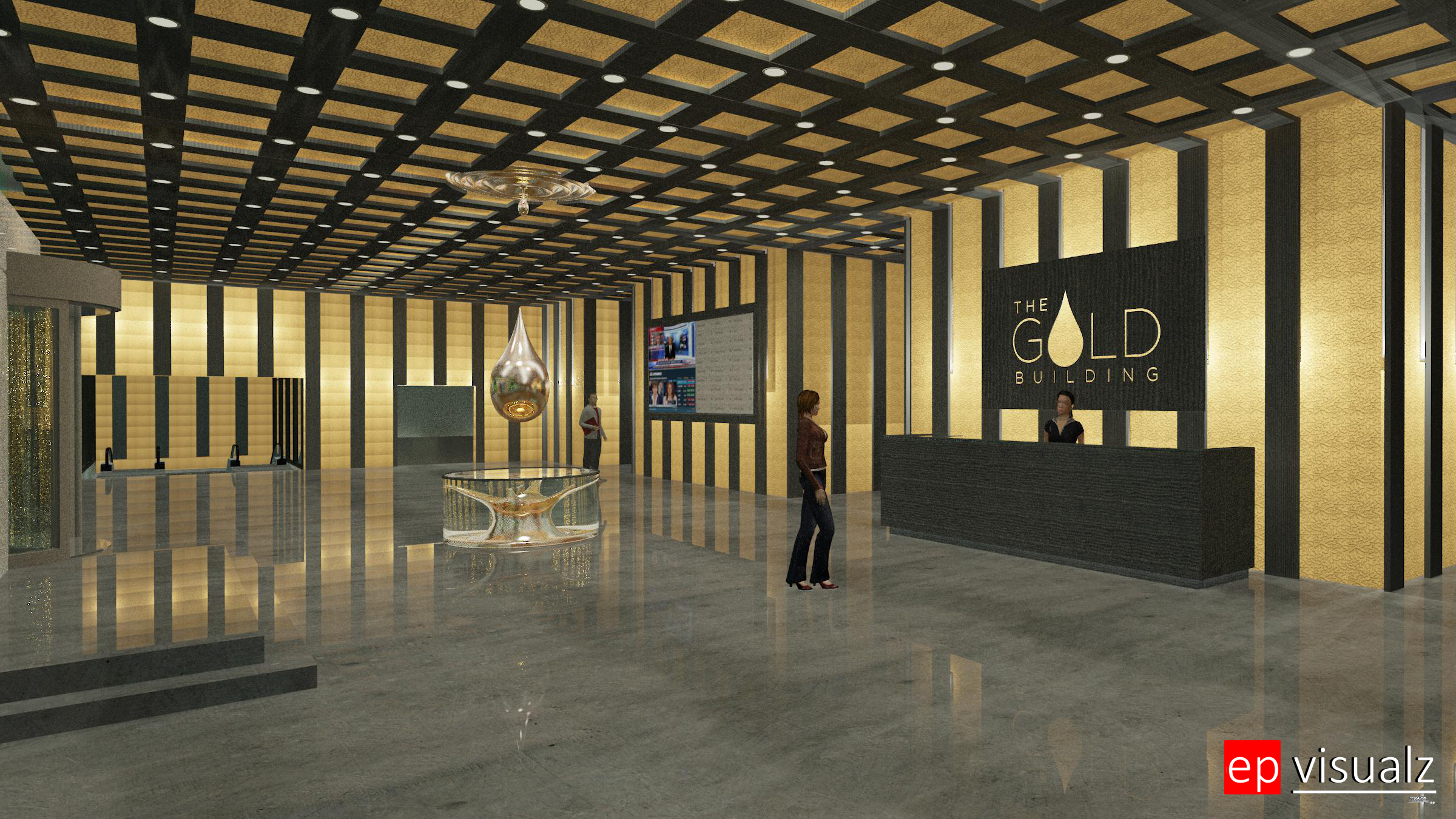 Gold Bldg-Lobby 1