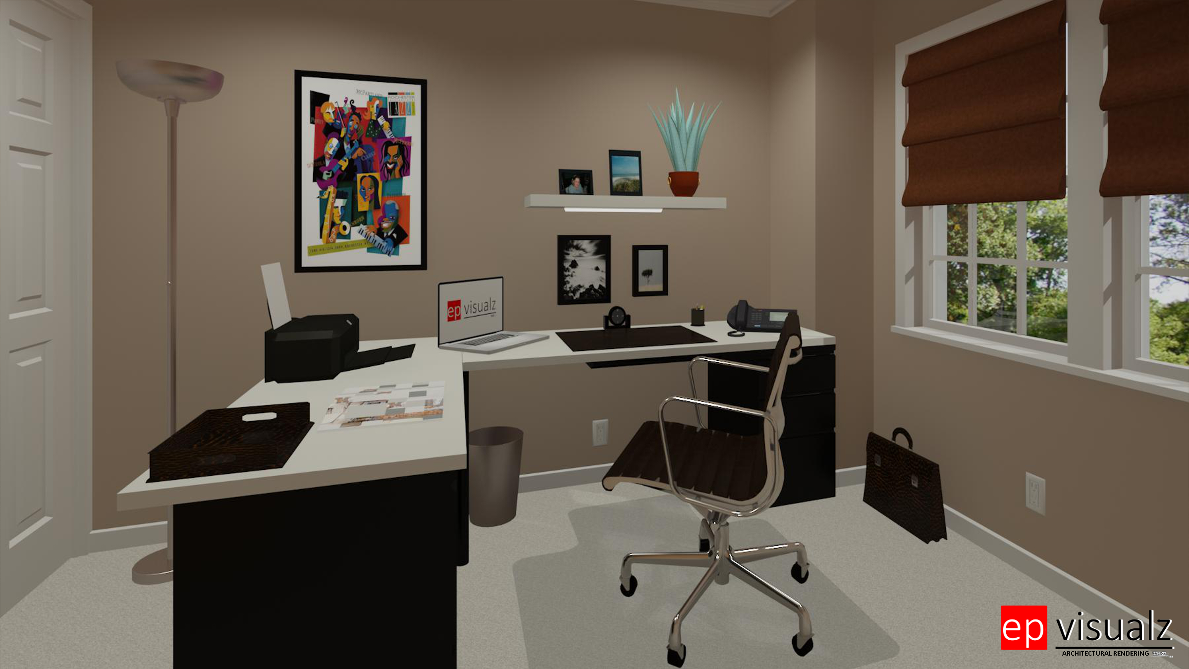 Home Office-Modern 1a