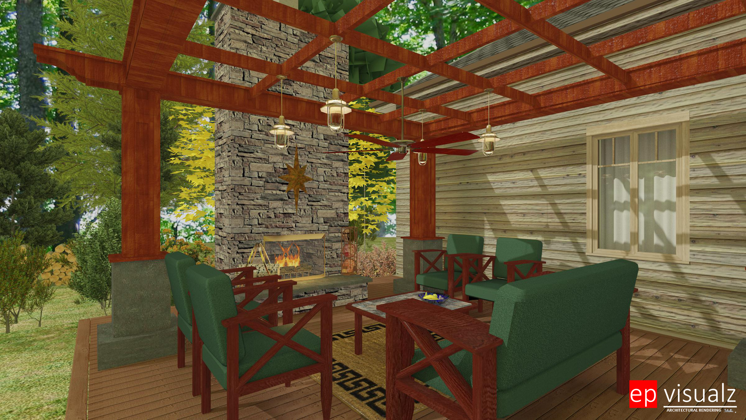 Pergola & Fireplace rev-RT