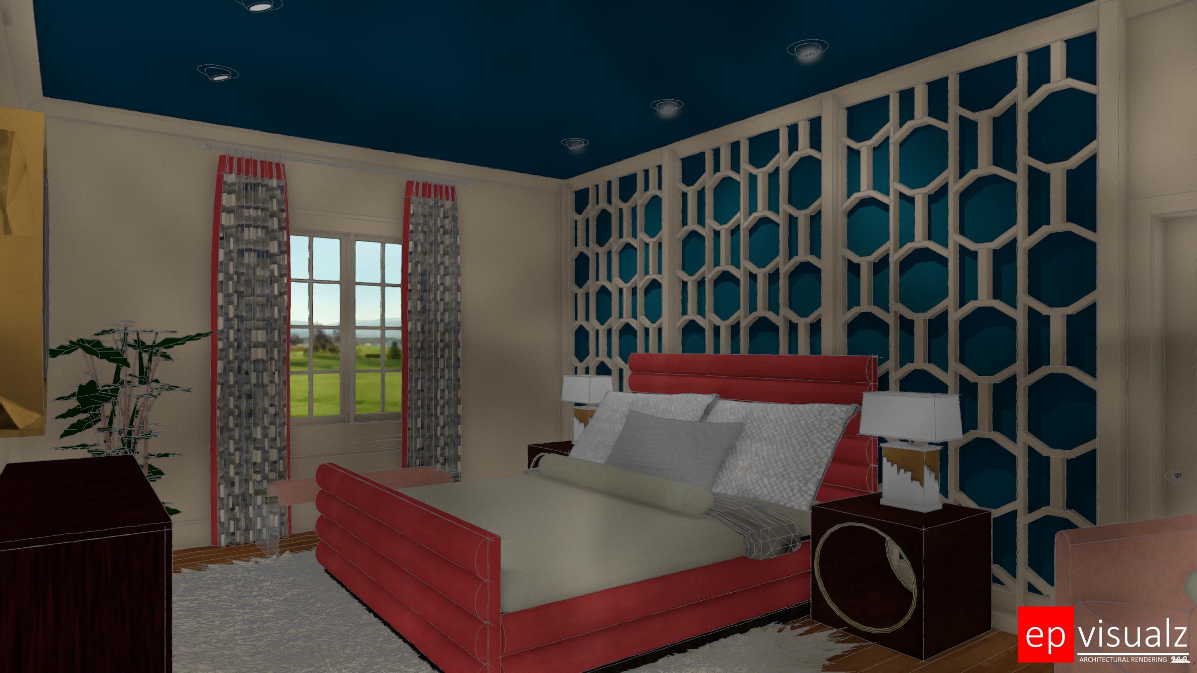 SAI-SF DSH, Guest Room