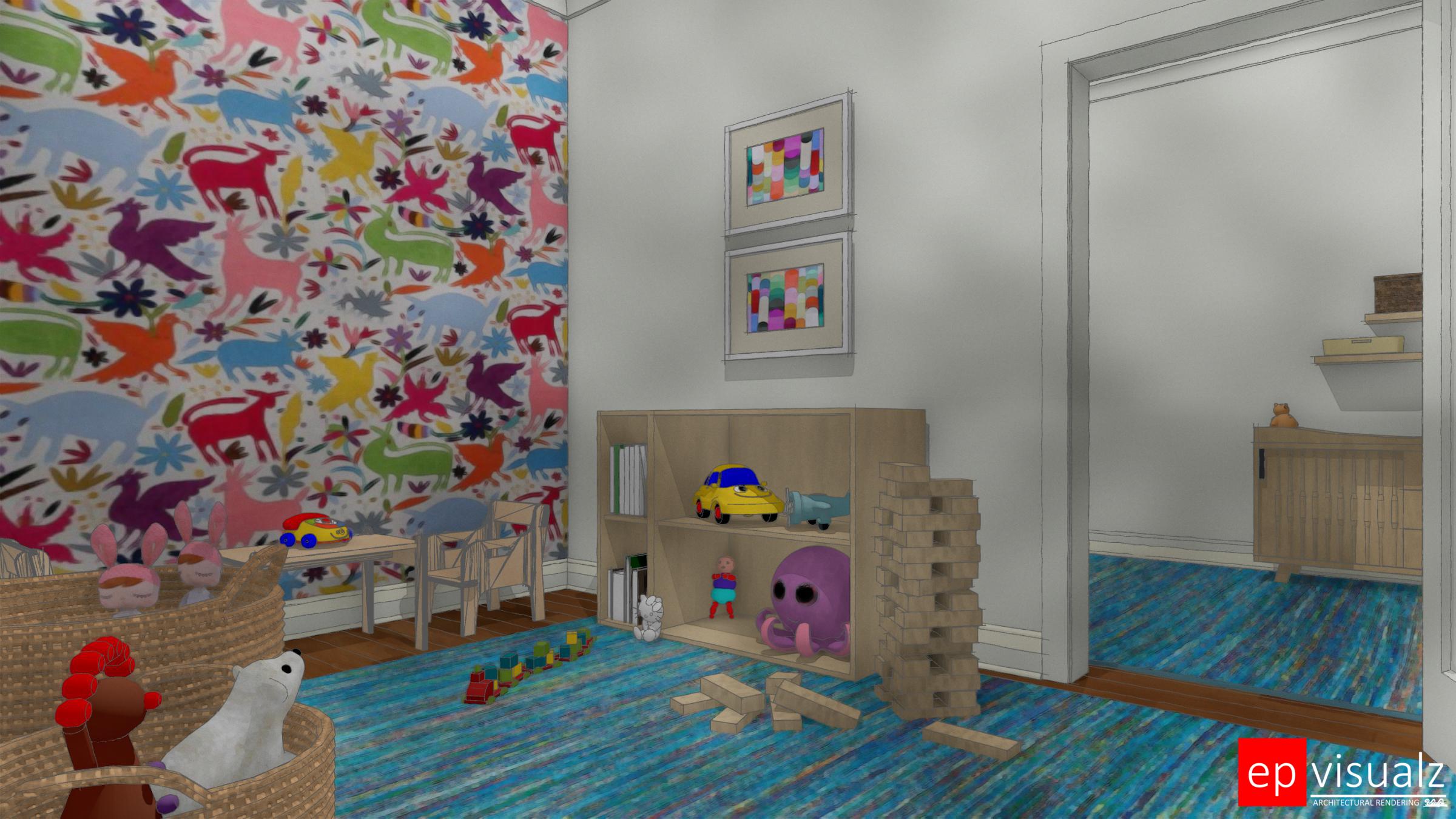 SAI-SF DSH, Playroom